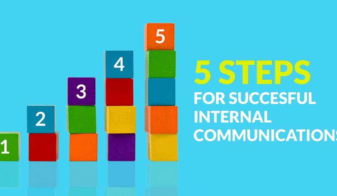 5 steps for successful internal communication