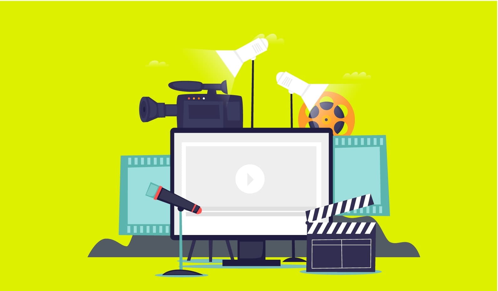 The Video Production Company Guide yellow screen