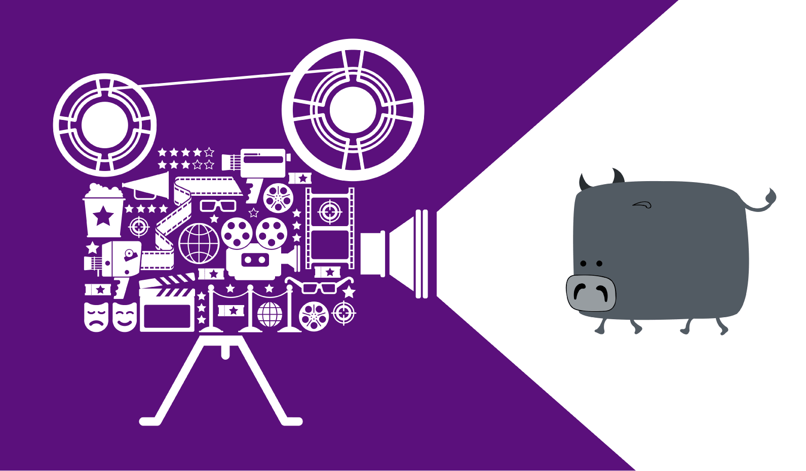 corporate video production company purple shining camera