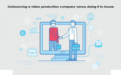Outsourcing to a video production company vs doing it in-house: Which is best for your business?