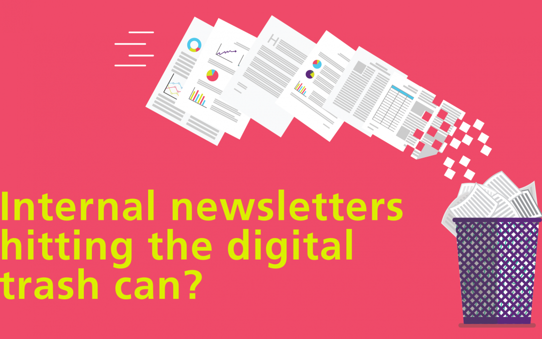 Internal newsletters hitting the digital trash can? Not when you follow these guidelines, they don't…