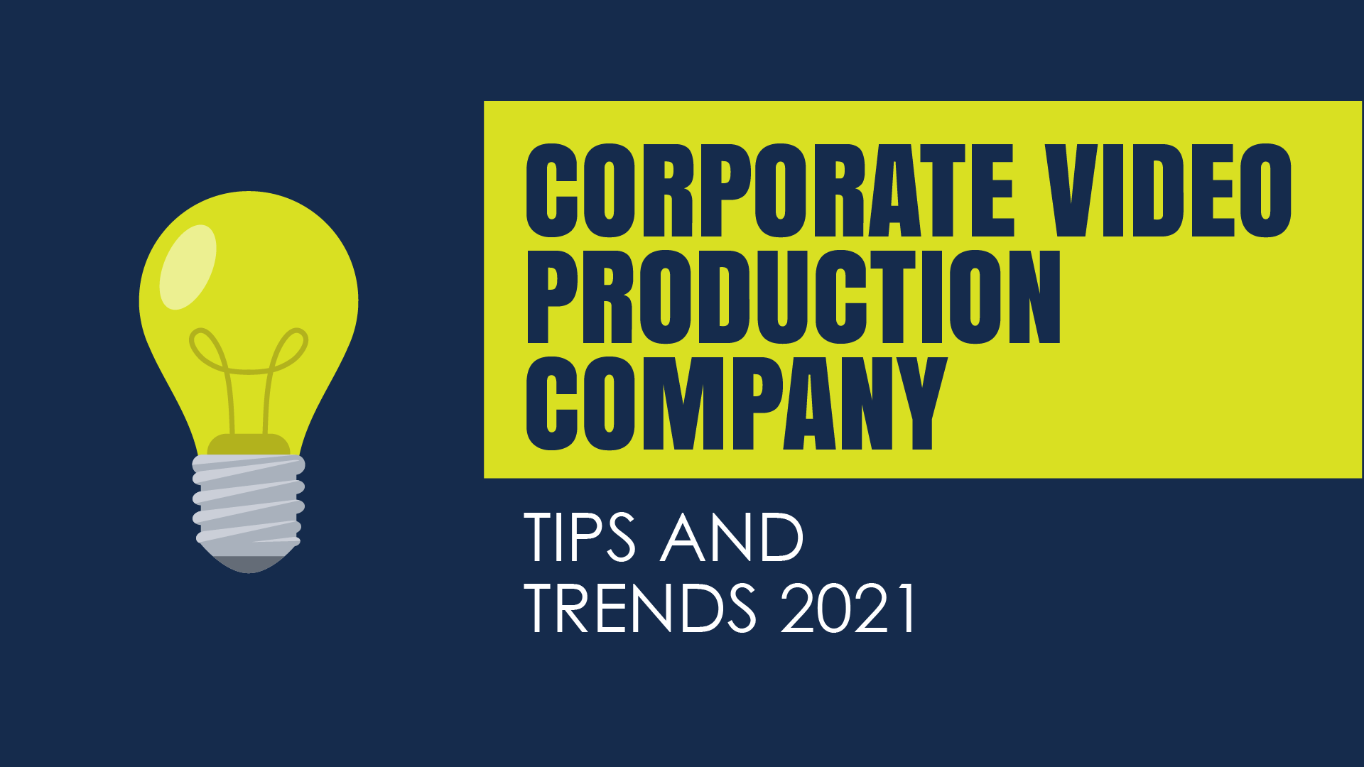 corporate video production company pink